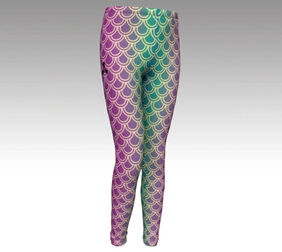 Youth Mermaid Leggings