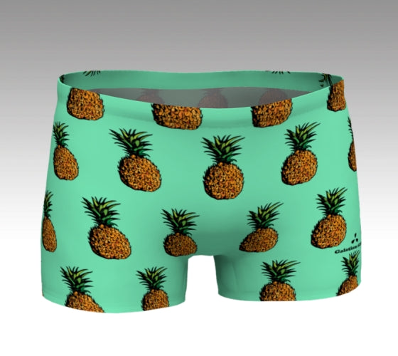 Pineapple Shorts: Mint SOLD OUT