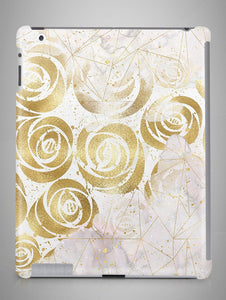 Gold Flower Marble iPad Mini Case Marble iPad 4