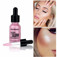 Shimmer Brighten Liquid Highlighter Oil Concealer Makeup