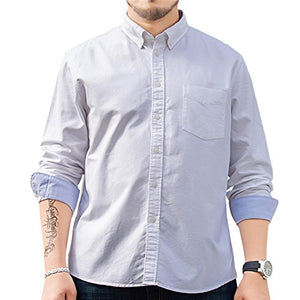 Jeopace  Button Down  Business Casual Shirts Big Tall
