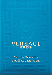 Versace Eros EDT Cologne, 0.17 Ounce