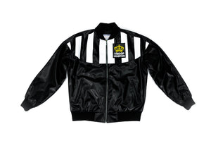 Troop Champion Leather Jacket Black/White