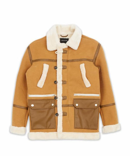 Wheat Shearling Jacket