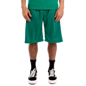 222 Banda Treadwellz Alternating Banda Green Black White Shorts