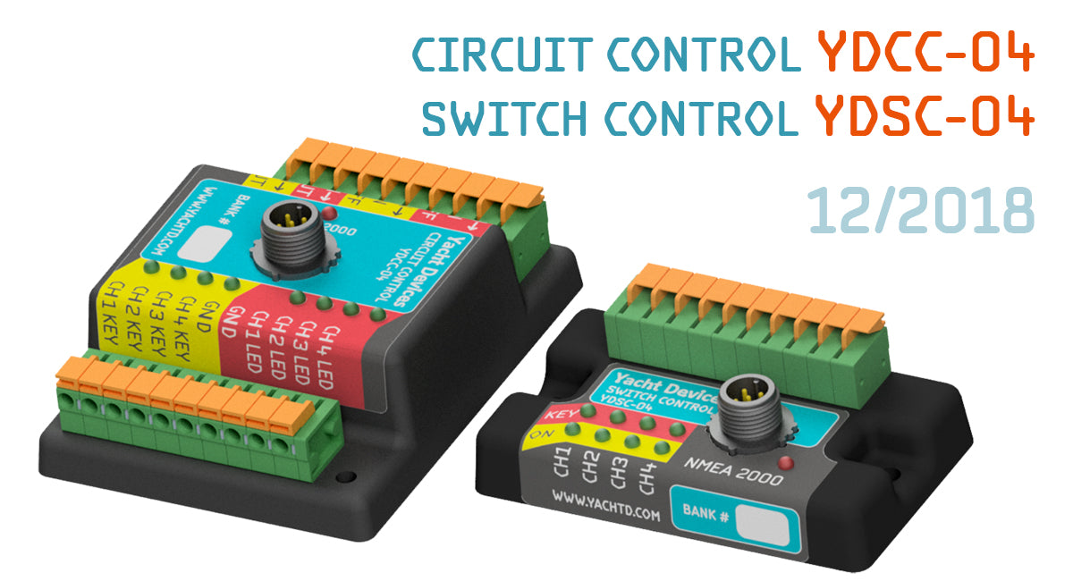 More new products and digital switching coming soon! – Yacht