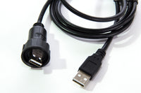 Male to Male IP-67 USB Cable