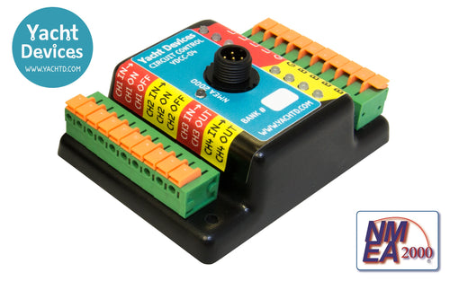 Circuit Control - NMEA 2000 Digitial Switch - YDCC-04