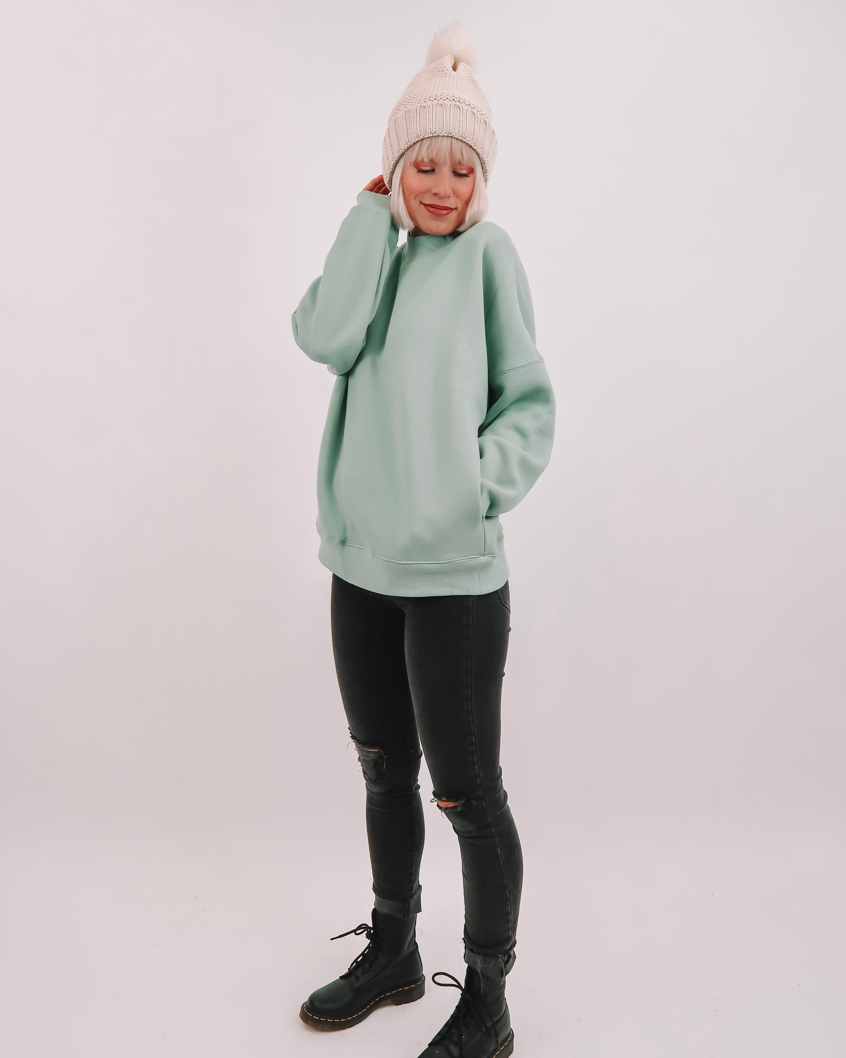 Mint To Be Pullover