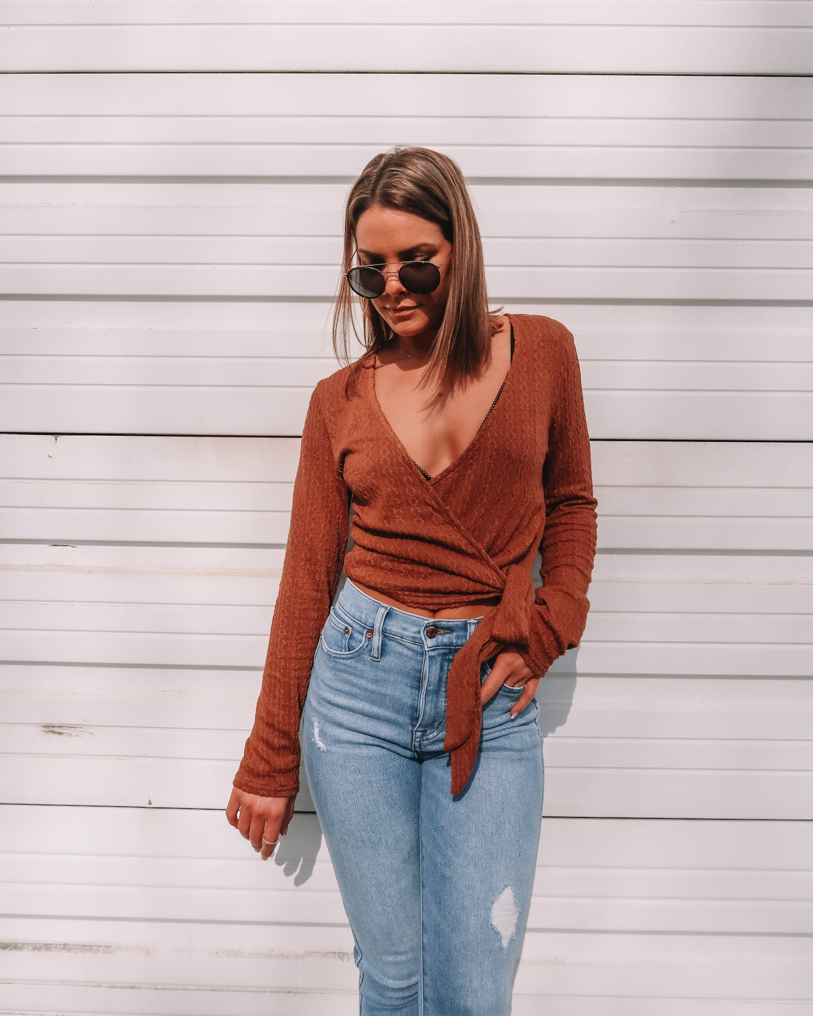 Astra Wrap Top