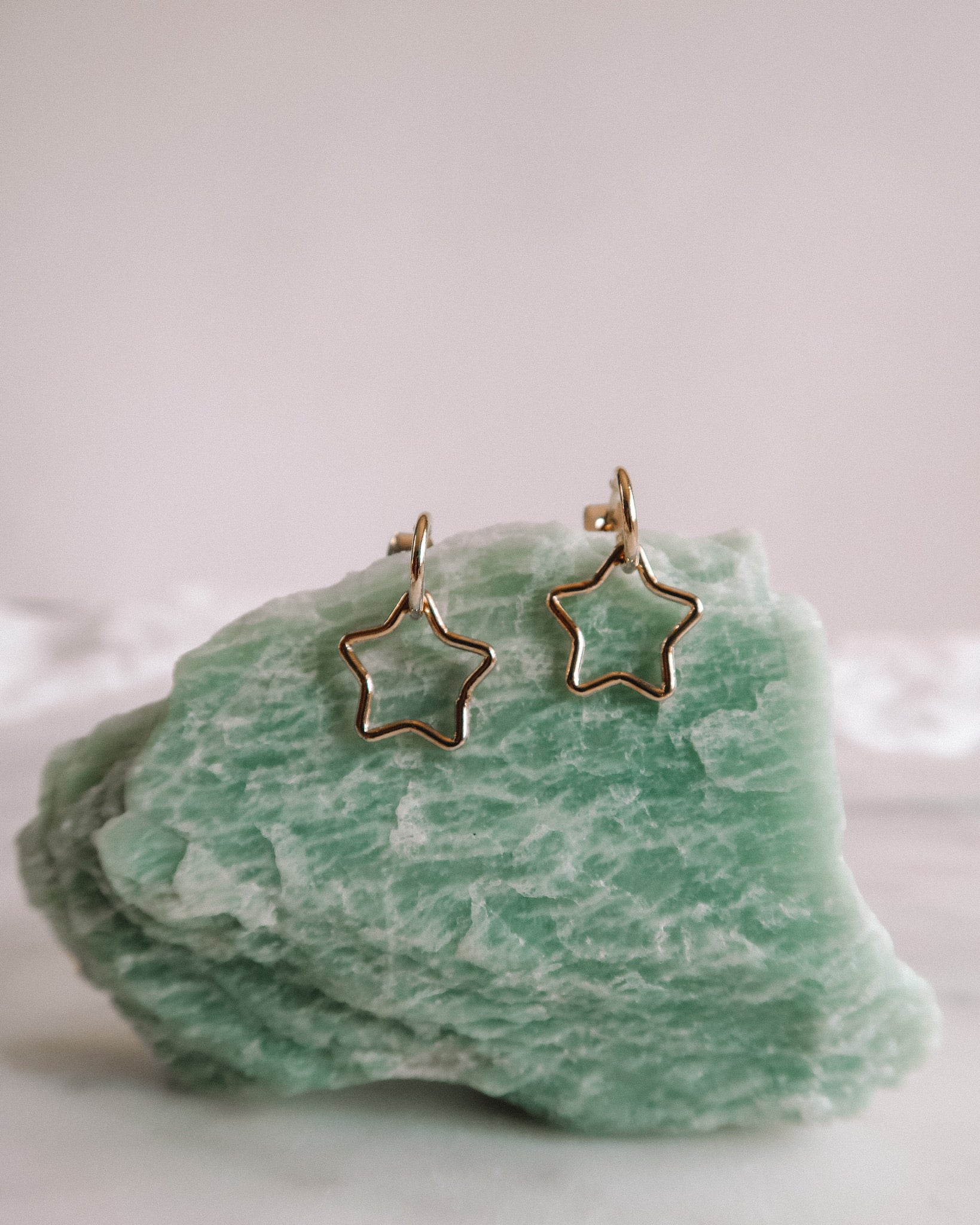 Shooting Star Dangle Studs