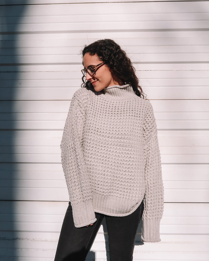Grey Skies Sweater