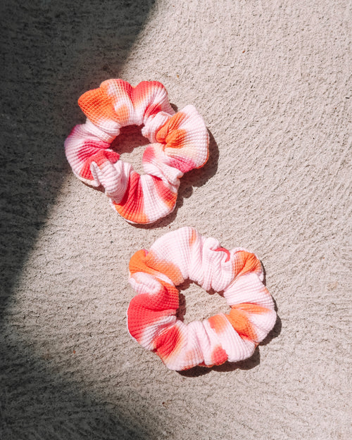 Sunset Scrunchie