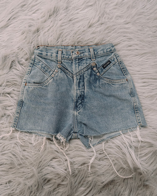 Vintage Rockies Denim Short