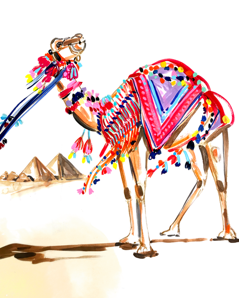 Carmen the Camel Print