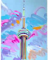 Views from Toronto Print