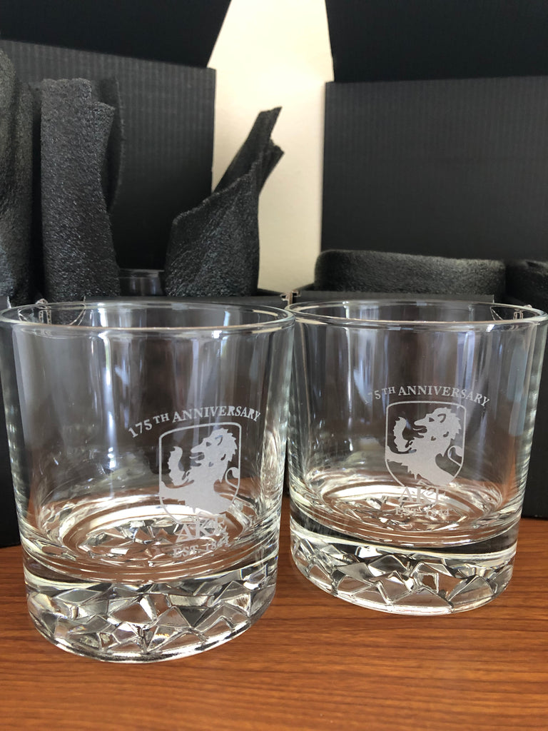 175th Anniversary On-The-Rocks Cocktail Glass (Set of 2)