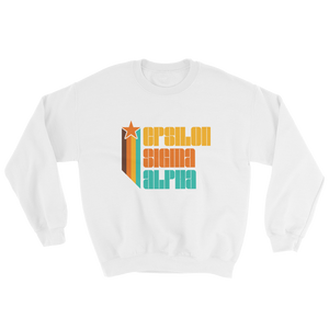 Epsilon Sigma Alpha Retro Sweatshirt