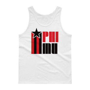 Phi Mu Retro COLOR Tank Top