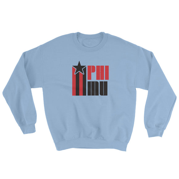 Phi Mu Retro COLOR Sweatshirt
