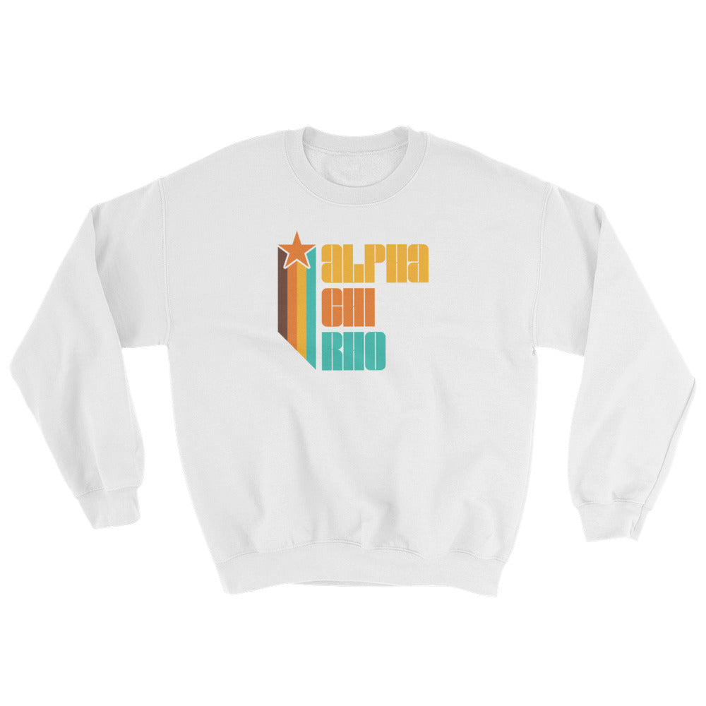 Alpha Chi Rho Retro Sweatshirt