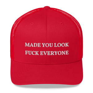 """MADE YOU LOOK"" Novelty Hat"