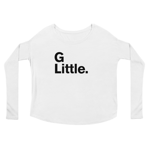 """G Little"" Ladies' Long Sleeve Scoop Neck Tee"