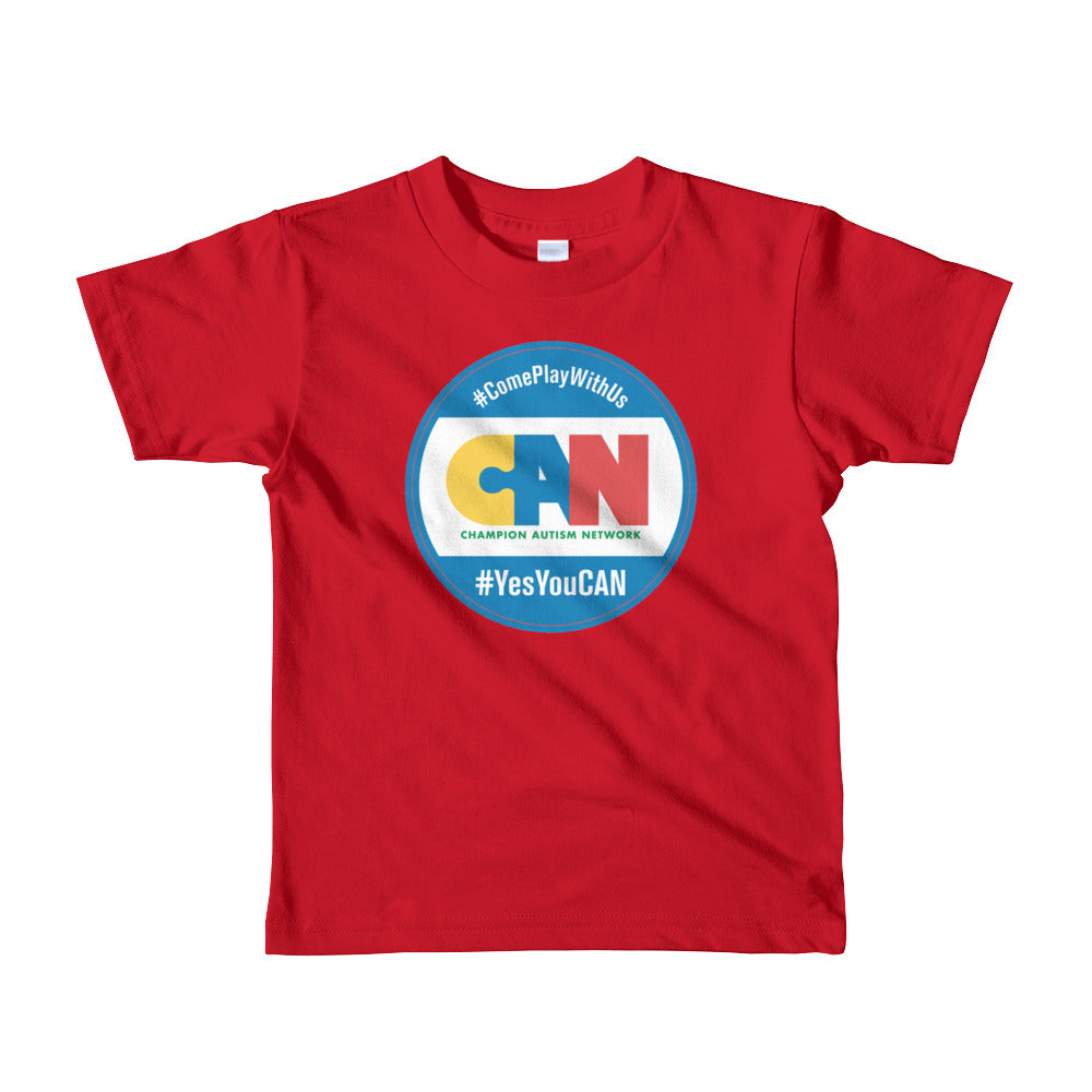 Champion Autism Network Short Sleeve Kids T-Shirt