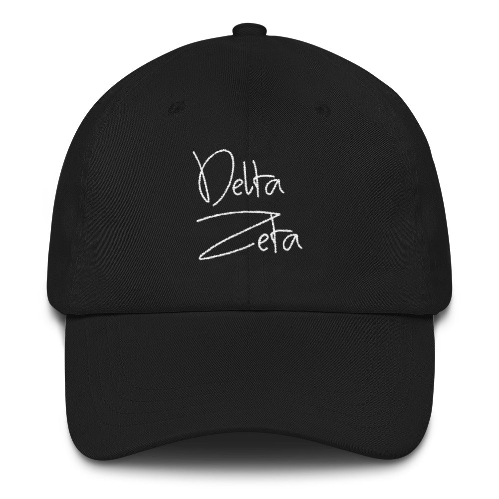 Delta Zeta Scripted Dad hat