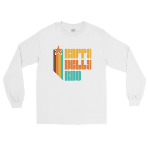 Kappa Delta Rho Retro Long Sleeve T-Shirt