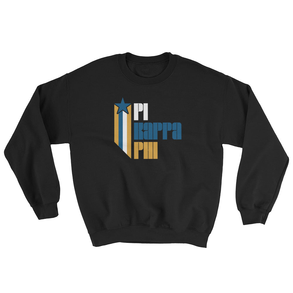 Pi Kappa Phi Retro COLOR Sweatshirt