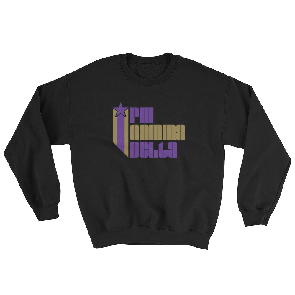Phi Gamma Delta Retro COLOR Sweatshirt