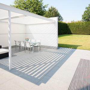 How Opening Roof Louvres Can Give An Unused Outdoor Area Functionality