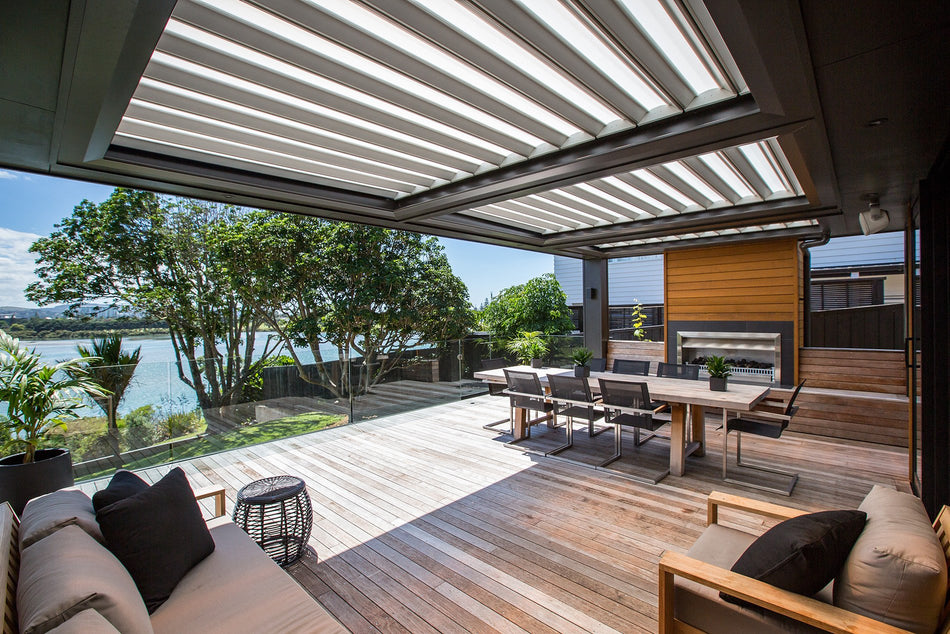 Louvred Patio Roof Opening Roofs Louvretec Australia