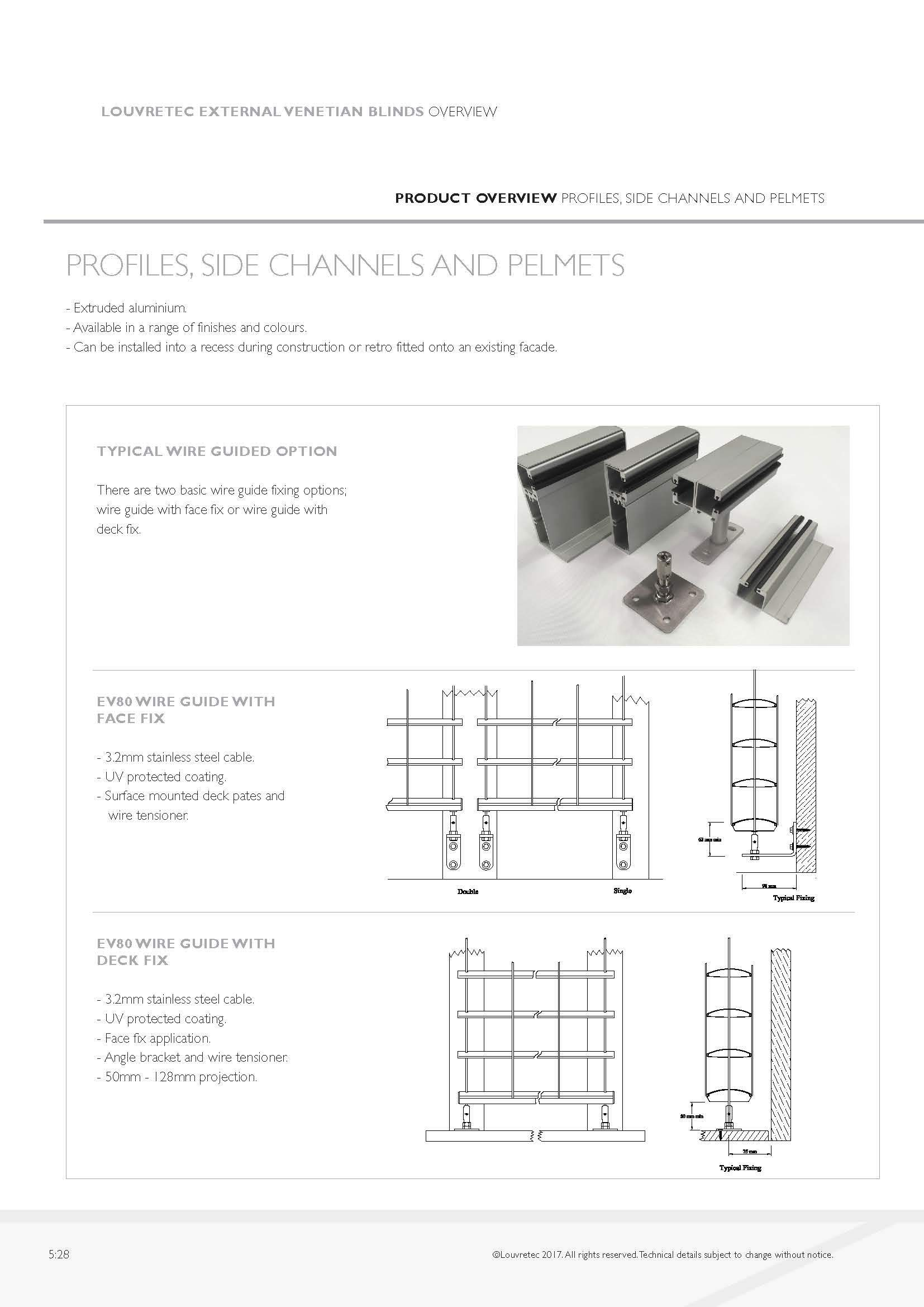 Profiles, Side Channels & Pelmets | 5.28