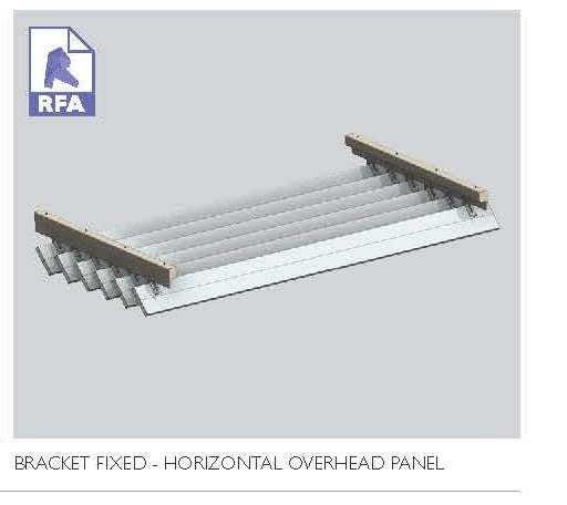 Bracket Fixed Horizontal Panel  8.51