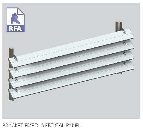 Bracket Fixed Vertical Panel  8.51
