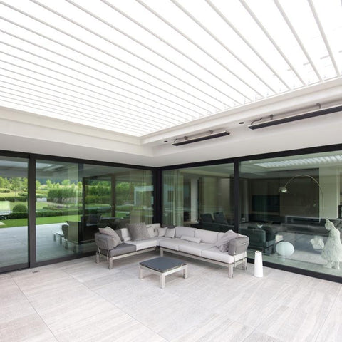louvred patio roof