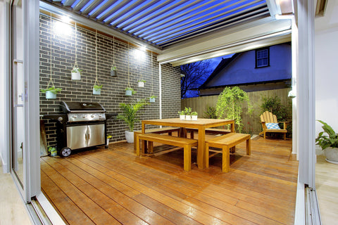 alfresco dining australia louvretec home