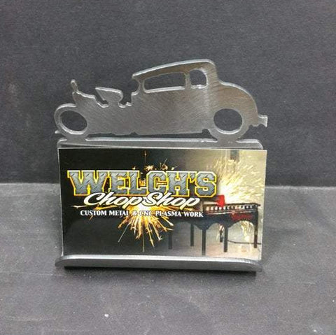 Hot Rod Business Card Holders