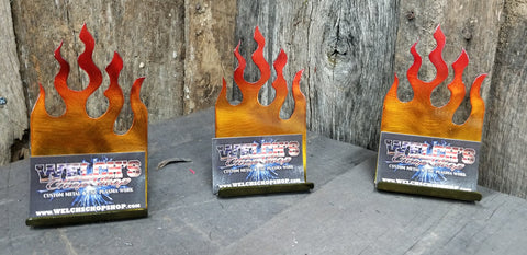 Flame Business Card Holders