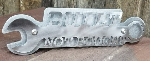 Built Not Bought Trailer Hitch Cover