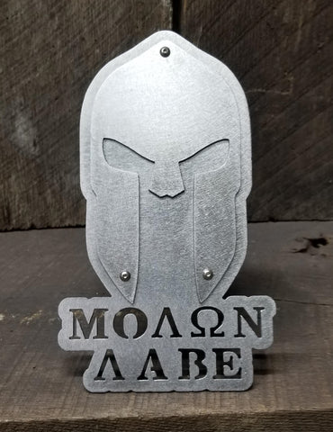 Spartan- Come And Take It Hitch Cover