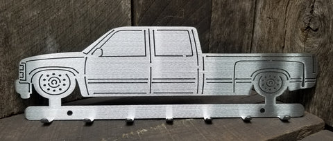 OBS 4 Door Dually Key Hanger