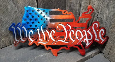 WE THE PEOPLE -USA Out Line