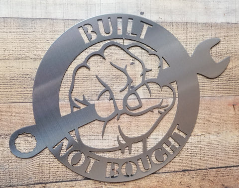 Built Not Bought Fist
