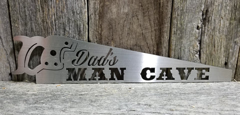 Dads Man Cave- Saw