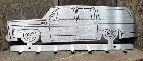 Square Body Suburban Key Hanger