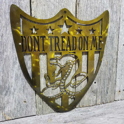 Don't Tread on me Shield