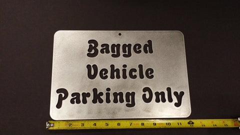 Bagged Parking Only